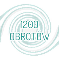 1200 obrotów